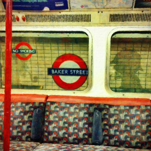 画像素材512✕512:ロンドンの写真|231|ロンドン地下鉄ベイカー・ストリート駅