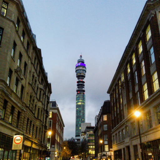 Stock images — 512 × 512 — London — BT Tower — 15 December 2017