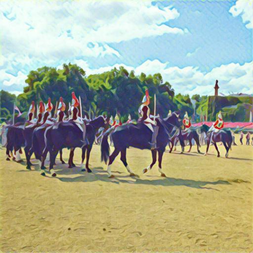 画像素材512✕512:ロンドンの写真|259|近衛騎兵交代