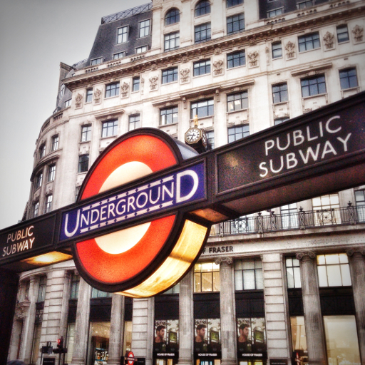 画像素材512✕512:ロンドンの写真|327|ロンドン地下鉄モニュメント駅
