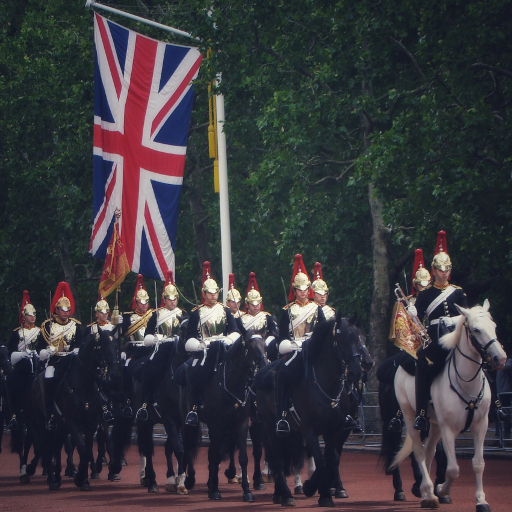 Stock images—512×512—London—Blues and Royals, The Mall—11 June 2019
