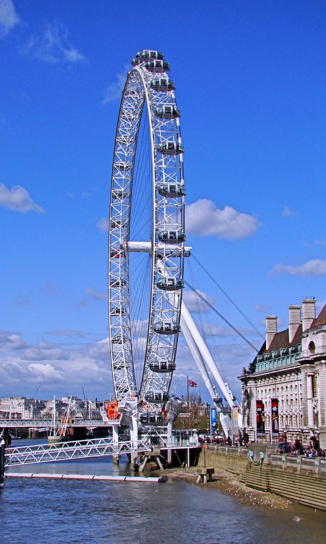 画像素材:縦長バナー:660✕1100(3:5) ロンドン|41 |ロンドン・アイ
