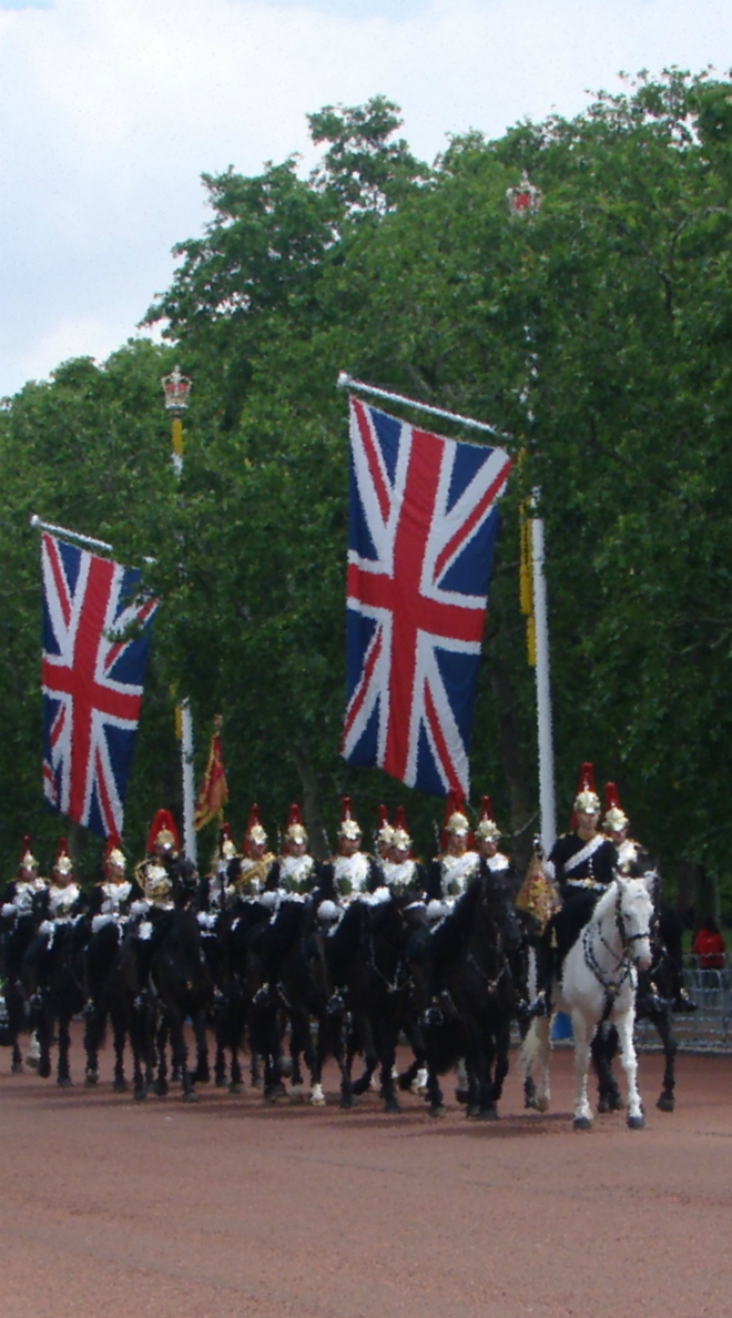 Stock images—660x1188—London—64—Blues and Royals, Household Cavalry, The Mall, London (11 June 2019)