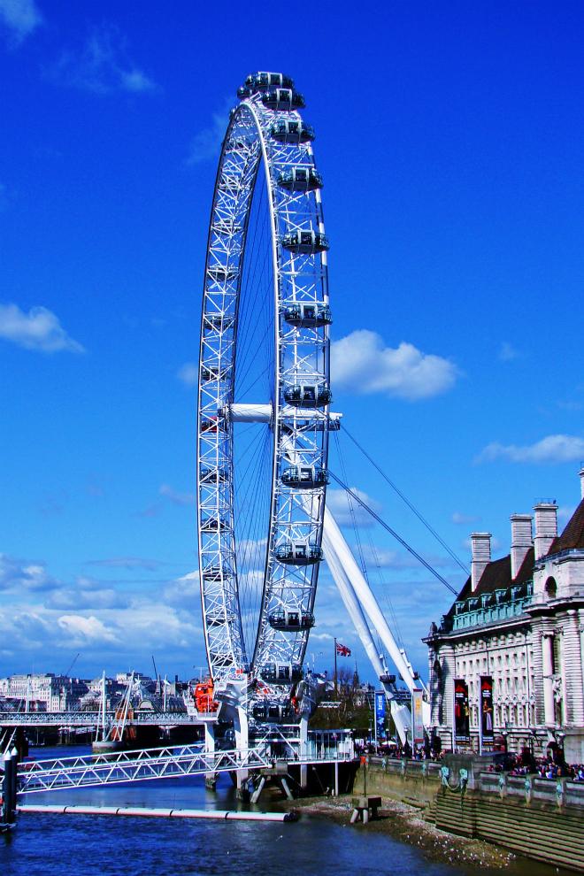 画像素材:縦長バナー:660✕990(2:3) ロンドン|42 |ロンドン・アイ