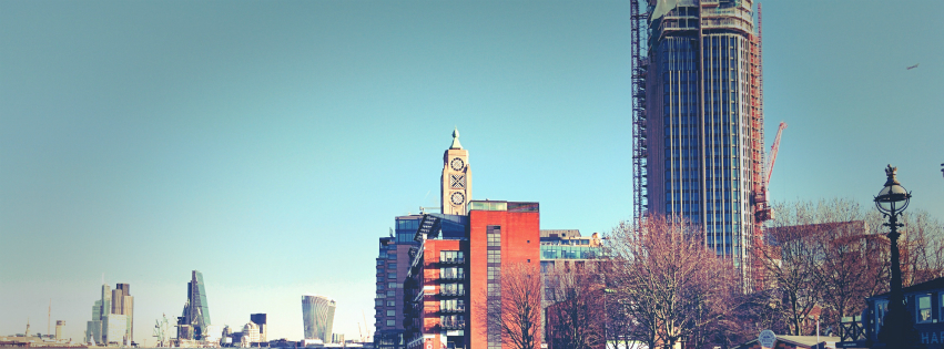 Stock images — Facebook cover photo (851 × 315) — London — OXO Tower — Photographed: 16 December 2014