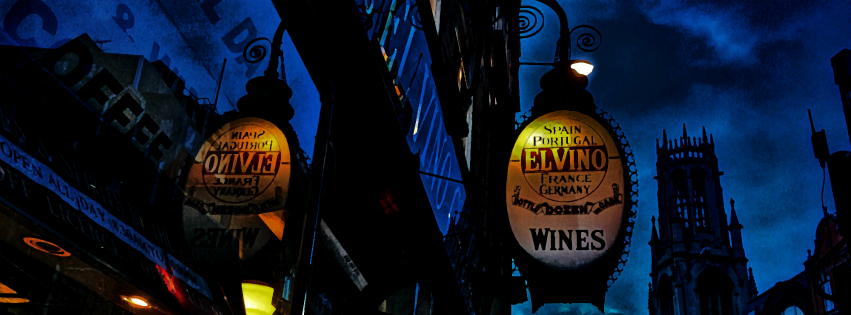 Stock images — Facebook cover photo (851 × 315) — London — El Vino / Fleet Street — Photographed: 14 January 2015