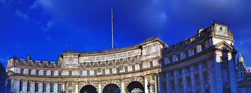 画像素材:851✕315(Facebookカバー写真):ロンドンの写真(249)|アドミラルティ・アーチ