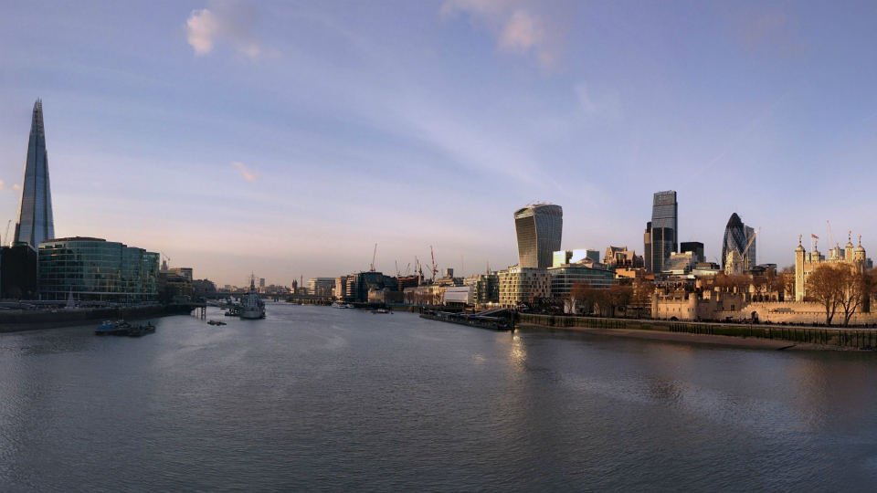 Stock images—960×540—London—118—A view of London from Tower Bridge—16 December 2014