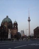 ベルリン|大聖堂とテレビ塔(2007年)