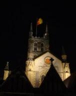 サザーク大聖堂(夜景写真)