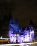 王立裁判所(夜景写真)