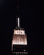 (Thumbnail) Empire State Building, NYC, photographed: 5 October 2011
