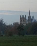 Christ Church Meadow / テムズ河畔から見たオックスフォードの街並