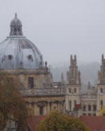 (Thumbnail) The Radcliffe Camera & All Souls College, as seen from Carfax Tower