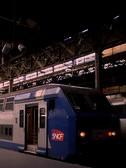 パリ:サン・ラザール駅:近郊形電車