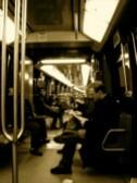 パリ地下鉄|車両内の模様